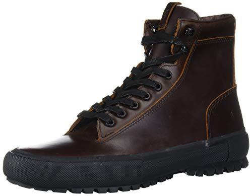 Frye Men's Ryan Lug Trek Sneaker, Dark Brown, 9.5 M US