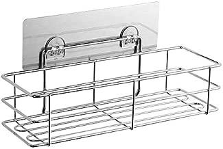 Egab Stainless Steel Multi Purpose Bathroom - Shelf - Rack - Kitchen Shelf Magic Sticker (29.8 x 11.7 x 14.5 cm)