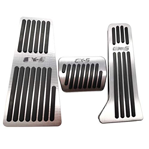 LIUYE Foot Rest Gas Brake Pedal Covers for Fits Mazda CX5 CX-5 CX 5 2013-2019 at(Automatic Transmission)