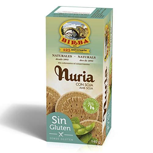 Birba Galletas Nuria Con Soja 'Sin Gluten' 140 g