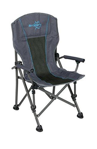 Bo-Camp BC Comfort vouwstoel, antraciet, niet van toepassing