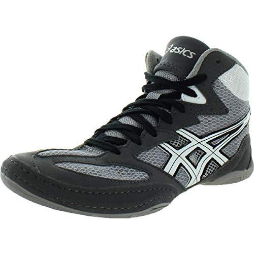 ASICS Men's Matflex 4-M, Granite/White/Black, 13 M US