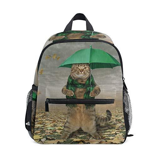 Kinder-Schulranzen mit Katzenmotiv - ideal für Schule oder Reisen