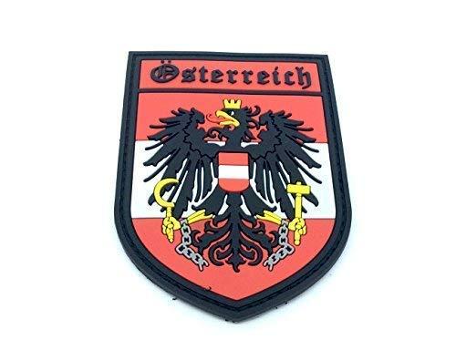 Österreich Wappen Österreichische Crest Airsoft Klettverschluss PVC-Patch