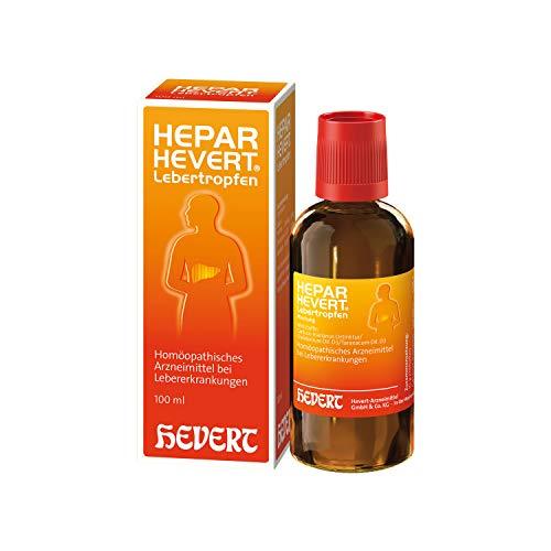 Hepar Hevert Lebertropfen, 100 ml Lösung