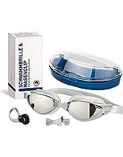 N-PIR Duits merk I Premium zwembril zwembril incl. neusclip 3.0   Duits merk als set sport en vrije tijd   anti-condens duikbril voor een heldere ervaring onder water