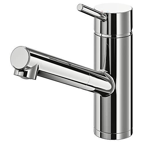 YTTRAN miscelatore cucina rubinetto con bocca estraibile 18 cm cromato