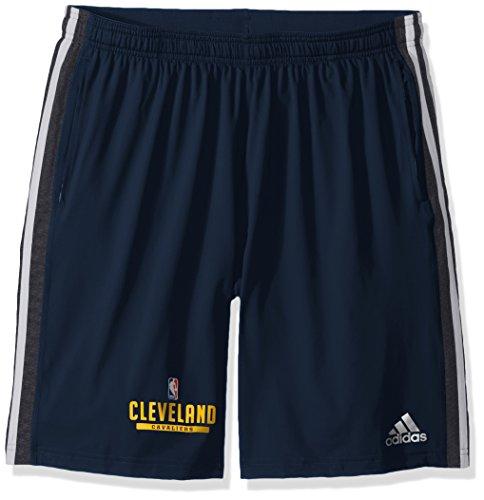 adidas NBA Cleveland Cavaliers Herren Shorts, Größe XL, Marineblau
