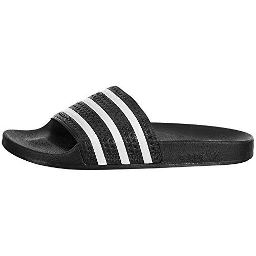 adidas Originals Herren Adilette| schwarz/weiß/schwarz| 38.5 EU | Schuhe > Outdoorschuhe > Outdoorsandalen | adidas Originals