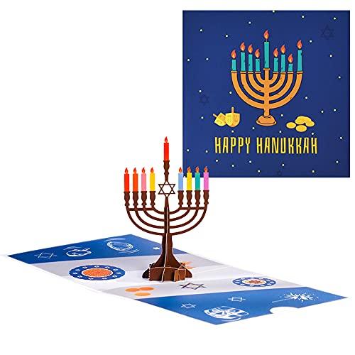 Magic Ants Pop Up Hanukkah Cards, 3D Hanukkah Card, Hanukkah Greeting Cards, Hanukkah Pop-up Card, Funny Hanukkah Card for kids Family