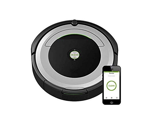 Find Discount JINRU Robot Vacuum-Wi-Fi Connectivity, Good for Pet Hair, Carpets, Hard Floors, Self-C...