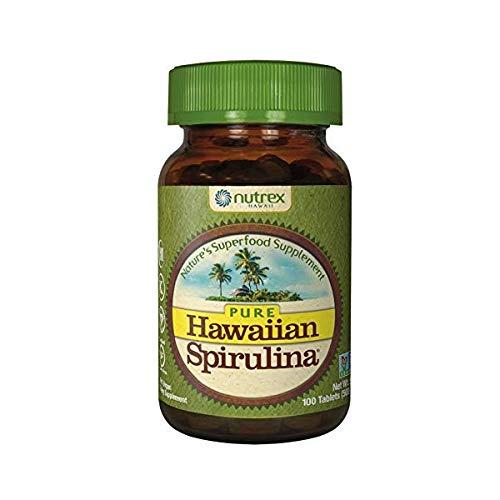 Nutrex Hawaii Hawaiian Spirulina Pacifica Tablet, 500 Mg - 100 per pack - 3 by Nutrex Hawaii