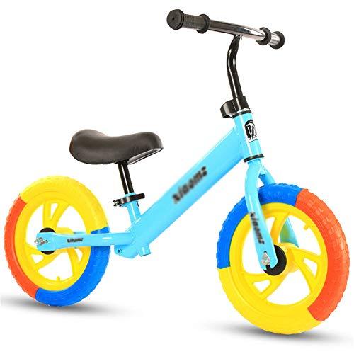 SqSYqz Balance De Bicicletas - Niño Formación Bicicleta, Cub Kids Bike Balance Sin Pedal De La Bicicleta,A