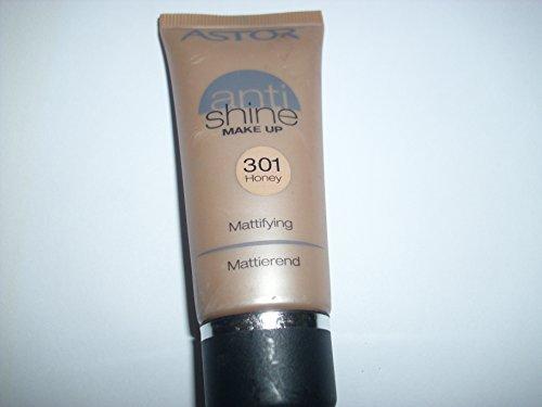 Astor Anti Shine Make Up, Farbe 301 Honey, 1er Pack (1 x 30 ml)