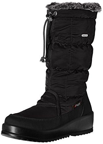 PAJAR Women's Galaxia Snow Boot, Black, 39 EU/8-8.5 M US