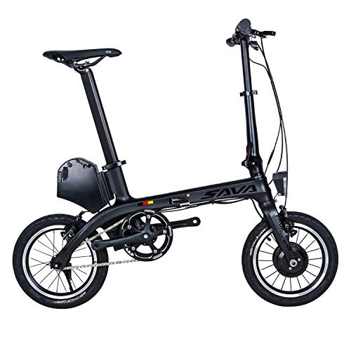 "SKNIGHT E0 Carbon Elektro-Faltrad E-Faltrad,14"" E-Bike Faltrad Mini City Folder 36V/7.8Ah 180W Samsung Lithium-Ionen-Akku"