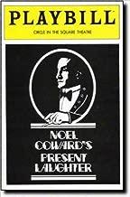 NOEL COWARD'S PRESENT LAUGHTER - PLAYBILL - NOVEMBER 1982