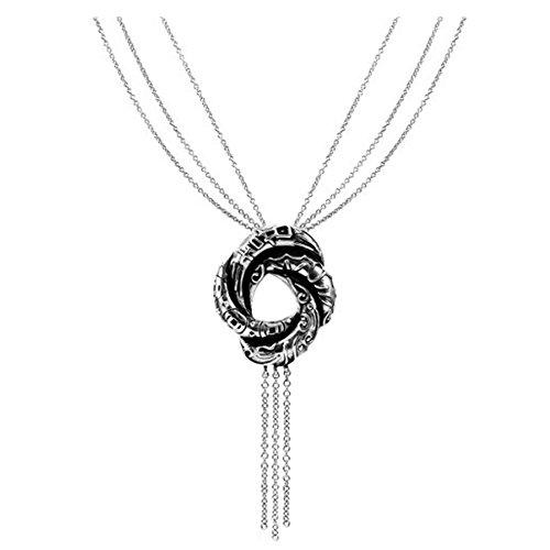 kleine Schätze - Damen-Halskette Sterlingsilber 925 - Algerischen Liebesknoten (Inspiriert durch James Bond)