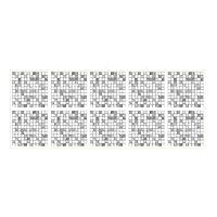 JOKnet モザイクタイルシール タイルシート 簡単貼付 壁紙シール 10枚セット 洗面所 キッチン トイレ TS021 10枚セット