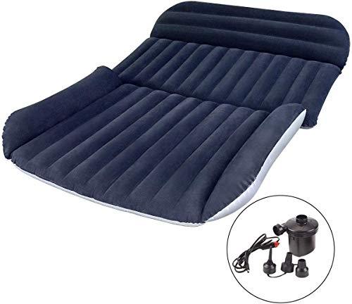 Osaloe Auto Matratze, Auto Luftmatratze with Luftpumpe Dickere SUV Luftmatratze Aufblasbares Bett für Outdoor Camping Traveling