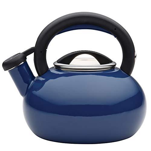 Circulon 1.5-Quart Sunrise Teakettle, Navy Blue
