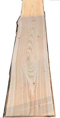 Bonanza Zaun Lärche Bohle 16,48€/m Baumscheibe unbesäumt Massivholz Zaunbretter (einseitig geschliffen, 100cm)