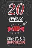 20 Años Siendo un BOMBÓN: Regalo de 20 Cumpleaños para Chica y Chico Joven Adolescente ~ Regalo 20 años Original Divertido y Especial para los veinte ~ Cuaderno de Notas ( Niño y Niña )