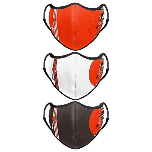 Cleveland Browns NFL Sport 3 Pack Face Cover