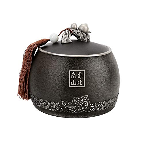 ZWSHOP Tin Tea Caddy, Wake-up Tea Sealed Cans, Business Gifts, Birthday Gifts for The Elderly