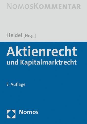 Aktienrecht und Kapitalmarktrecht