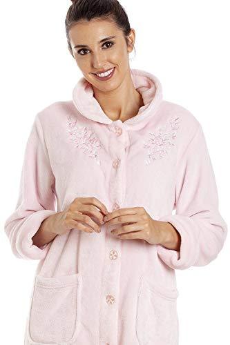 CAMILLE Womens Various Button Housecoats 50/52 Light Pink