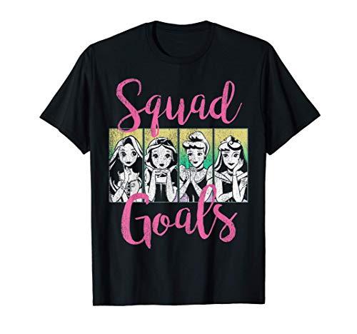 Disney Princess Squad Goals Vintage Group Shot Poster T-Shirt