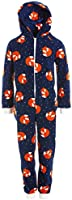 Camille Child Animal Print zachte fleece onesies