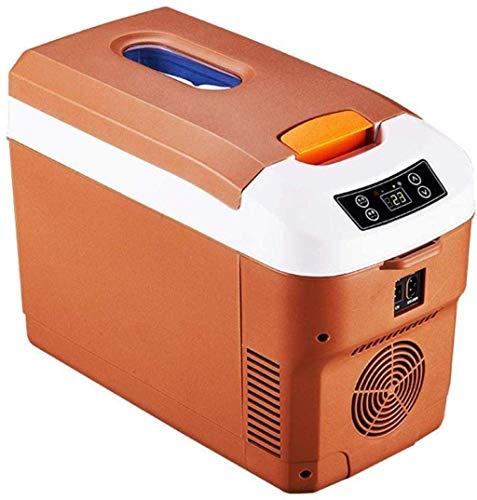 ZFFSC Refrigerador de Coche Coche Refrigerador Camión Horizontal Coche Pequeño Mini Refrigerador Coche Casa Dual Uso de 12V Termostato de Coche, 2,25 Refrigerador de Coche (Color : 1)
