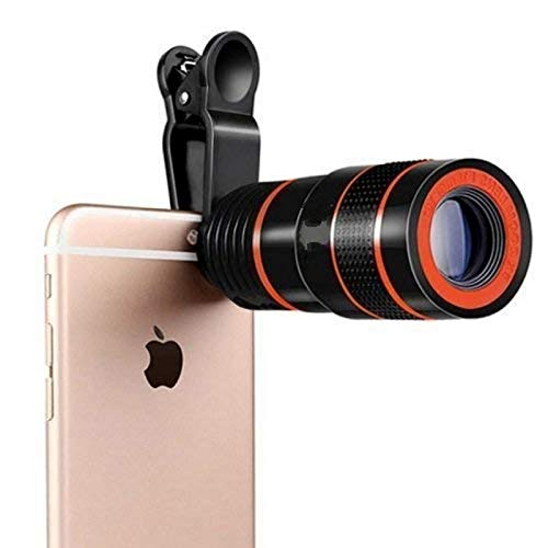 Shaarq Universal 8X Ulrta HD Zoom Telescope Camera Lens for All Smartphones & Android Mobile