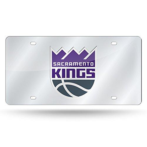 Rico Industries NBA Sacramento Kings Laser intarsiato Metallo Targa Tag