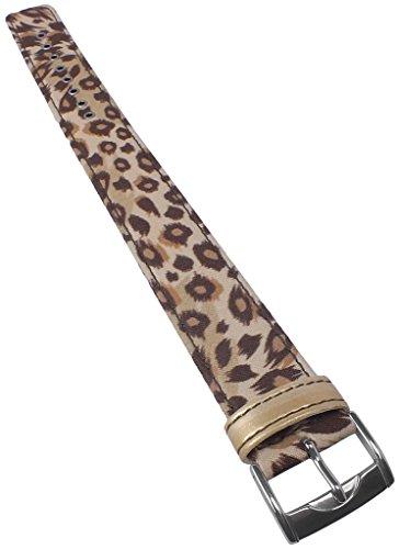 Correa Textil para Reloj de Pulsera de Mujer Casio Baby-G BG-3000V Leopard 20 mm