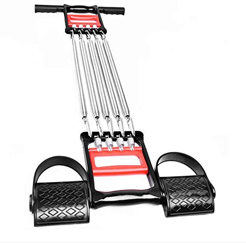 QIXIN Multifunctional Dual-use Chest Expander arm Fitness Machine Chest Muscle Exercise Equipment, sit-ups Pull Rope, arm Waist Fitness Stretching Training, Bodybuilding Family Fitness