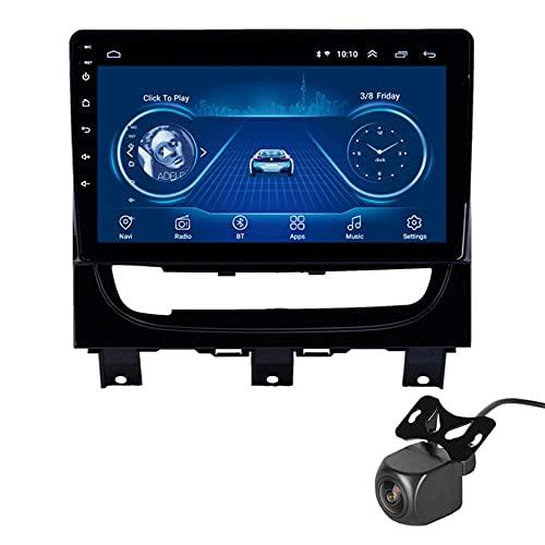 Android Car Stereo para Fiat Strada 2012-2016 Navegación GPS Unidad Principal De 9 Pulgadas Reproductor Multimedia De Video con WiFi DSP SWC FM GPS con Camara Trasera, 2+32G