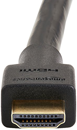 Amazon Basics CL3 Rated High Speed 4K HDMI Cable - 15 Feet