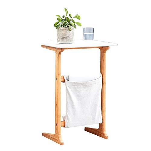 Ordenador portátil Soporte de Mesa portátil de Madera for la Cama del sofá de enfermería del Hospital de Lectura Comer Interior Muebles (Color : Natural)