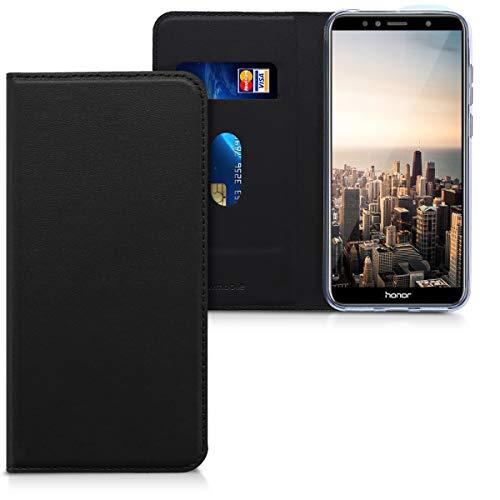 kwmobile Cover Compatibile con Honor 7A - Custodia a Libro in Simil Pelle PU per Smartphone - Flip Case Protettiva