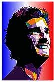 Luck7 Leinwand Druck Poster Antoine Griezmann für