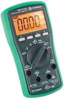 Best greenlee dm-210 digital multimeter manual Reviews