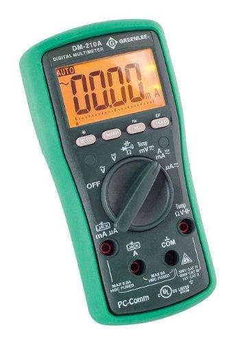 Greenlee DM-210A DMM,1KV AC/DC,CAP,TEMP