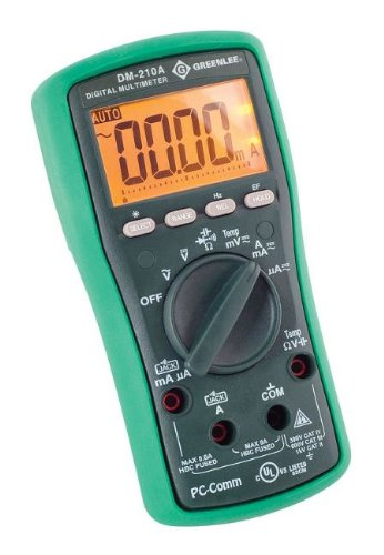 Greenlee DM-210A Multimeter