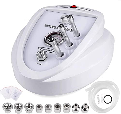 Yofuly Diamond Microdermoabrasión máquina de dermoabrasión, uso doméstico profesional equipo de salón de belleza facial (potencia 65-68cmhg)