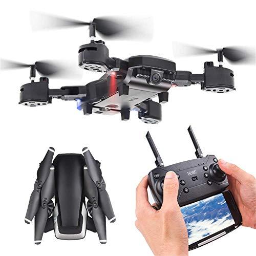ZHCJH Vierachsige Mini-1080p-Drohne, Fernbedienungsdrohne mit Kamera, Wifi1080P-Kamera Live-Video 4 CH 4-Achsen-Gyro RTFFollow Me, 15 Minuten Lange Akkulaufzeit