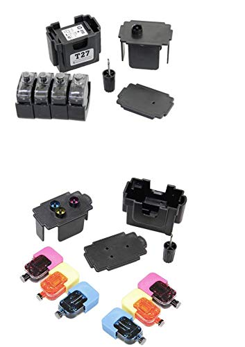 EASY-REFILL Nachfüllset - Befülladapter und Nachfülltinte für PG-540 black und CL-541 color (XL). Druckerpatronen ganz einfach selbst nachfüllen! Mit Video-Befüllanleitung in Youtube