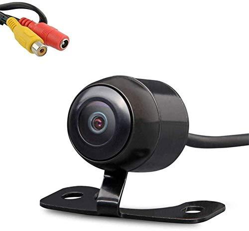LEXXSON - Telecamera anteriore/retromarcia per auto, 170° CMOS, mini telecamera posteriore per auto, impermeabile IP68, visione notturna, DC 12 V (anteriore o retro)